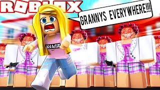 GRANNY IS BACK AND SHE BROUGHT HER GRANNY ARMY! (Roblox)