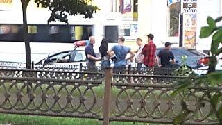Какие-то разборки с полицией Николаева 21.07.2016