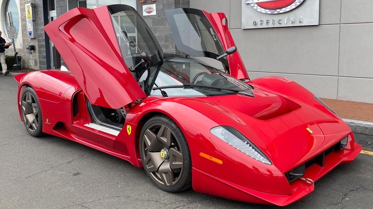 Ferrari P4 5 Pininfarina In For Service Wide World Ferrari Youtube