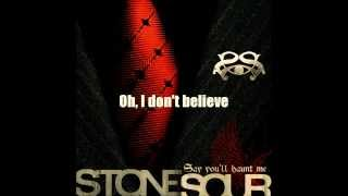 Stone Sour-Hesitate Lyric video