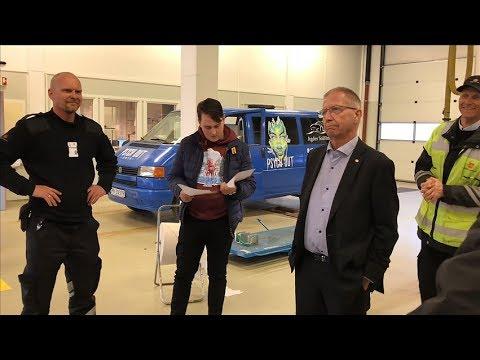 Statens vegvesen - Russebilkontroll 2018 - Kristiansand