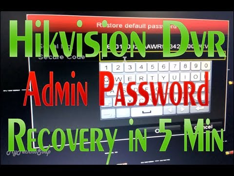Hikvision Dvr Password Hack - cleaningletter