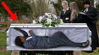 These People Woke Up At Their Own Funeral!