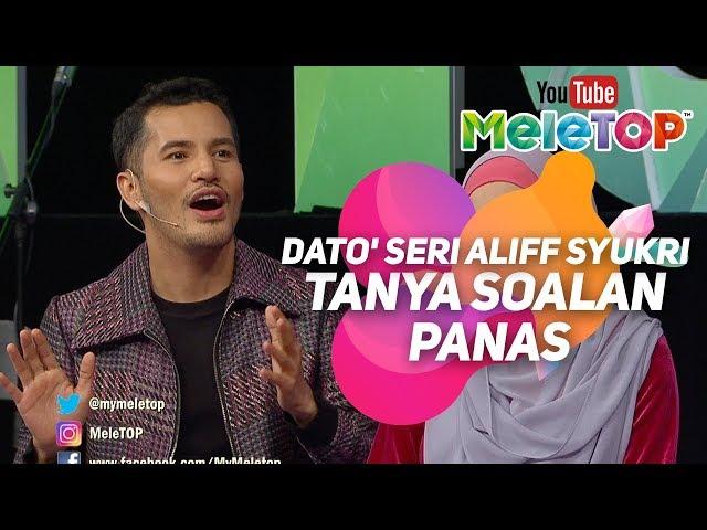 Dato Seri Aliff Syukri tanya soalan panas kat Neelofa   Oh Abang Kosmetik Terlajak Laris I MeleTOP