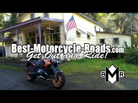 Best Motorcycle Roads California HWY 36 REVIEW on BMW Rockster