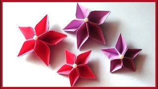How to Make Simple & Easy Paper Flowers Tutorial
