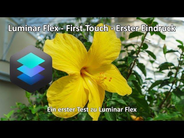 Luminar Flex - First Touch - Mein erster Eindruck - Luminar Flex in Adobe Lightroom