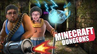 PASAULES GLĀBĒJI! - Minecraft Dungeons