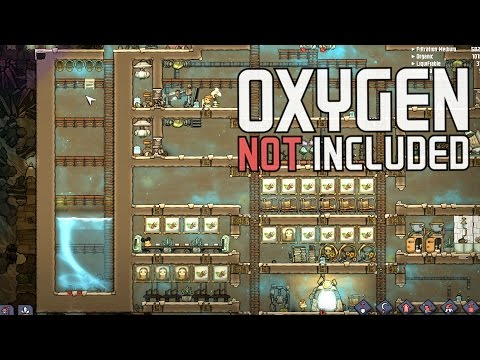 Oxygen Not Included - Ep. 9 - The Water Silo and Cleanup! - Let's Play Oxygen Not Included Gameplay