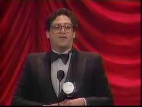 Harvey Fierstein wins 1984 Tony Award for Best Book of a Musical