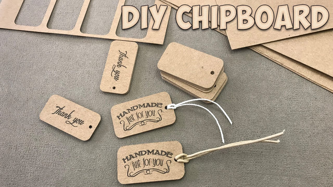 how to make chipboard youtube