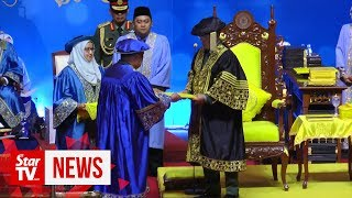 Al-Sultan Abdullah proclaimed chancellor of UPNM