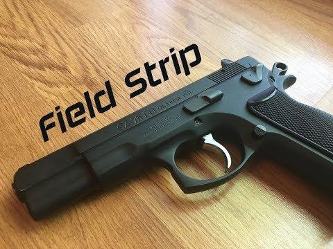 CZ 75 Field Strip
