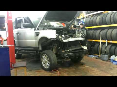 Range Rover Sport Body Removal YouTube - Range rover repair shop