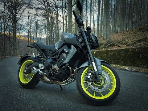 2017 Yamaha MT-09 (FZ-09) Test Ride Review - YouTube