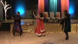 mehndi dance Parda Nasheen (Zain and Moona)