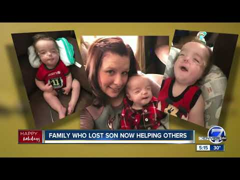 Colorado family who lost son to genetic disorder in October now helping others this Christmas