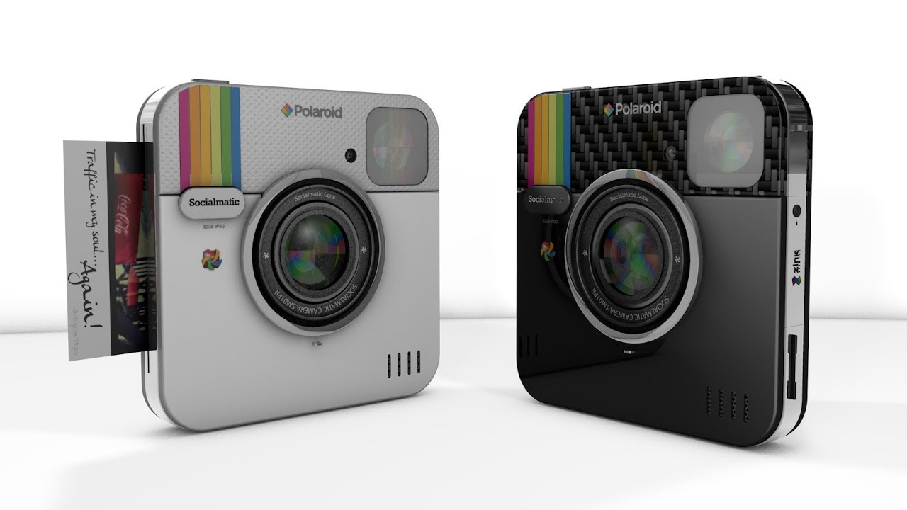 Instagram-Inspired Polaroid Socialmatic Camera Is the Most Meta ...