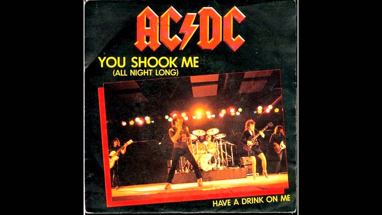 shook me all night long mashup Soundtrack: last action hero angus young was born on highway to hell remix) 2012 todd's pop let there be rock, you shook me all night long.