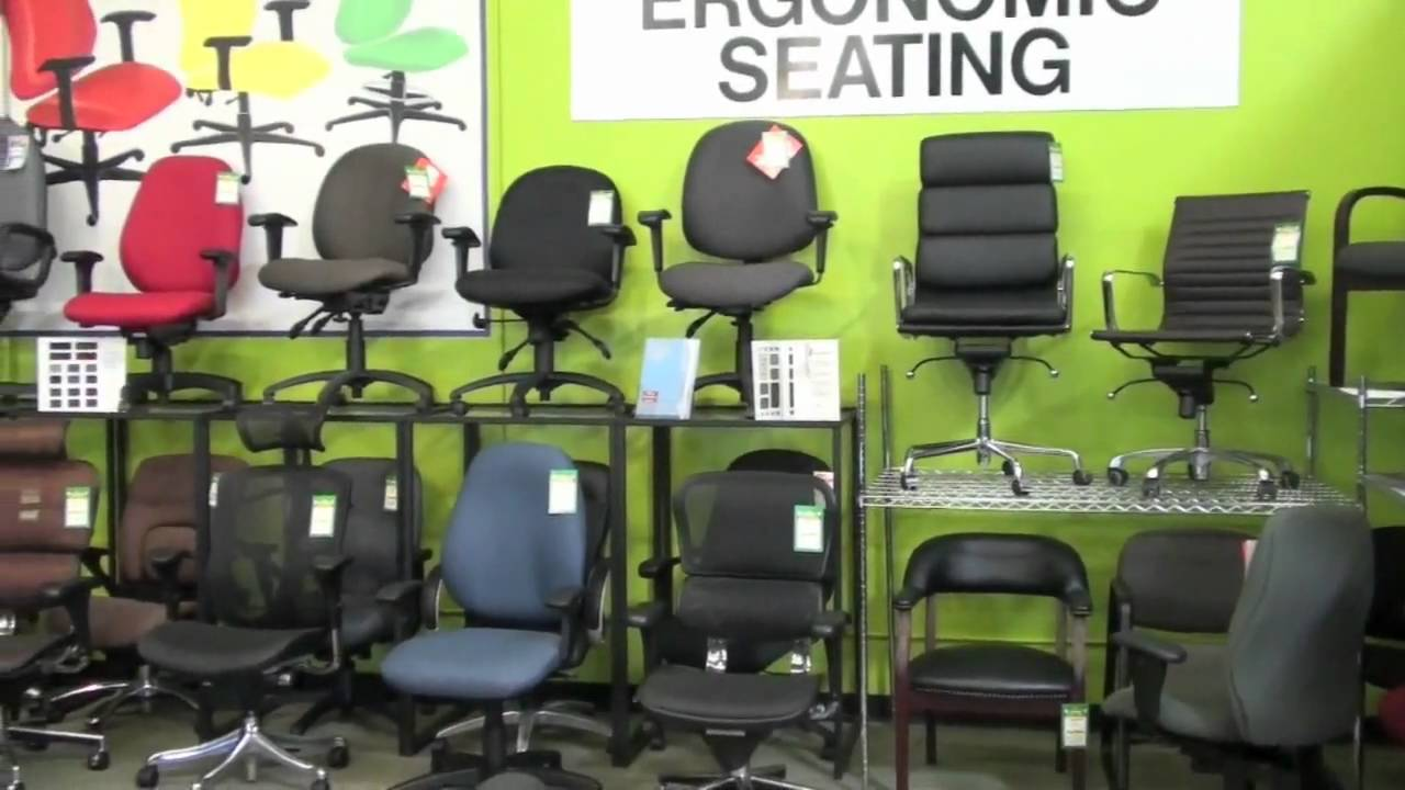 Office Furniture Outlet In San Diego Dealer Showroom Video   YouTube