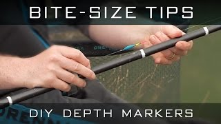 Bite-Size Tips: DIY Depth Markers
