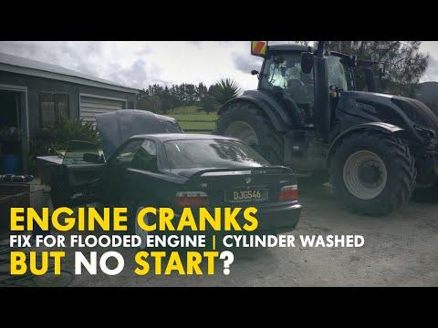 Fix for Crank No Start BMW (Fuel Flood/Cylinder Washed)