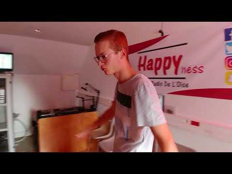 Visite des Studios de Happyness La Web-Radio De L'Oise
