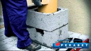 Pekabet - budowa komina systemowego