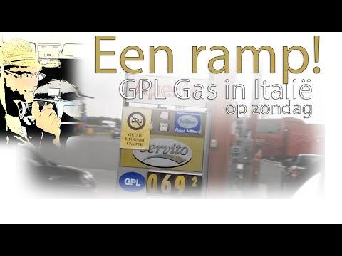 Een ramp! GPL gas in Italië