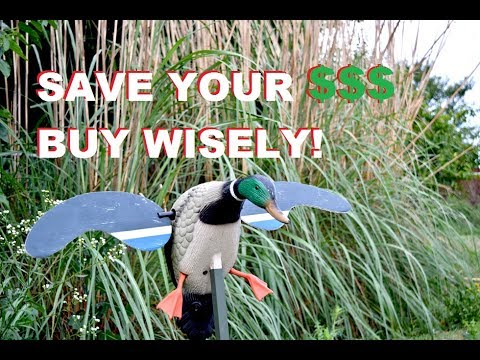 Save Money Buying Your Duck Decoys For Beginner Waterfowlers