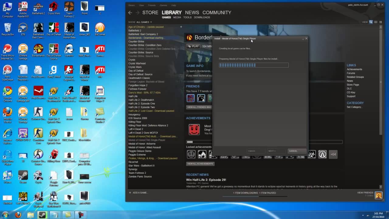 Steam Server