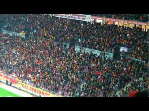 Galatasaray-Antalya 2-0'lık maç, Kale arkası dalgalanıyor