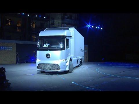 Mercedes-Benz Urban eTruck - Daimler Press Conference @ IAA Commercial Vehicles 2016