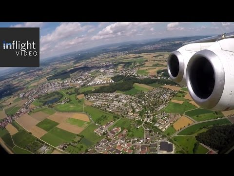 Swiss Avro RJ100 Beautiful Departure from Zurich (with ATC)