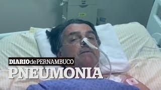 Bolsonaro apresenta febre e quadro de pneumonia
