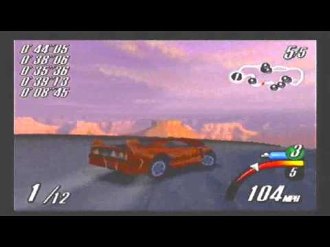 Top Gear Overdrive N64 gameplay part 1