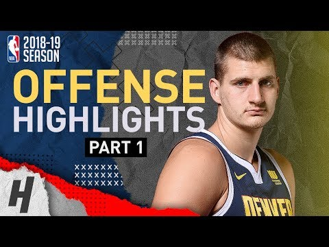 Nikola Jokic BEST Offense Highlights from 2018-19 NBA Season! Defense Included (Part 1)