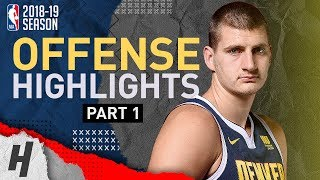Nikola Jokic BEST Offense Highlights from 2018-19 NBA Season! Defense Included (Part 1)