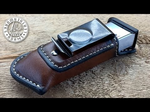 Making A Clip On Gun Magazine Pouch