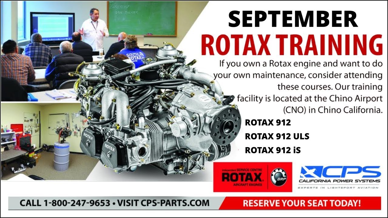 ROTAX 912/914 MAINTENANCE CLASS from California Power Systems