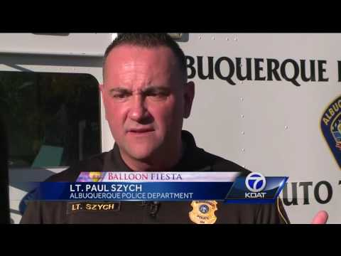 Albuquerque Police launch Balloon Fiesta tactical plan