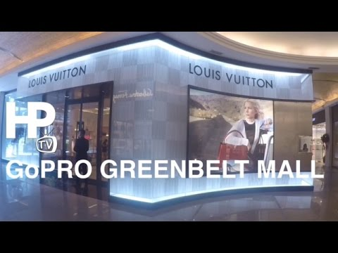 GoPro Greenbelt Mall Ayala Center Walking Tour Overview Makati Philippines by HourPhilippines.com