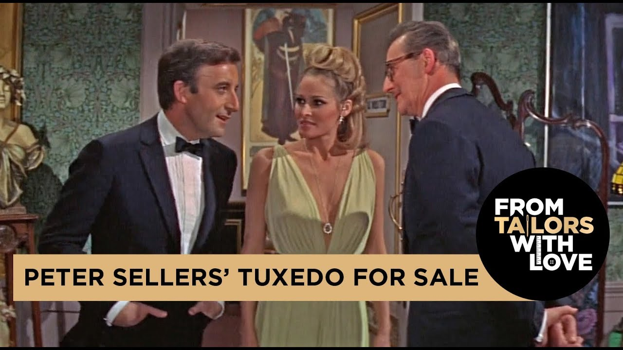 Peter Sellers' Tuxedo from Casino Royale is for Sale!