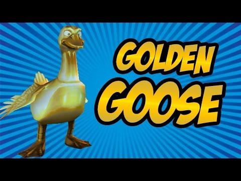 Wizard101: Golden Goose Pet Showcase