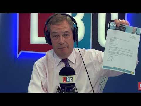 The Nigel Farage Show: Do you believe Trump is involved in Russia collusion? LBC - 30th October 2017