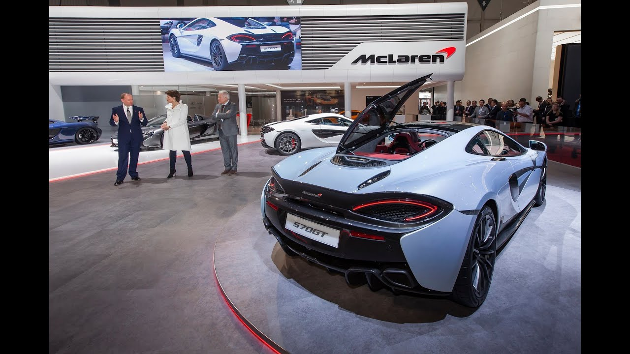 McLaren Press Conference from the Geneva Motor Show 2016