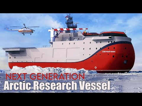 Russian Northern Fleet Gets First Next Generation Arctic Research Vessel in more than 20 years