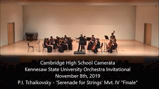 P.I. Tchaikovsky - Serenade for Strings Mvt. IV 'Finale - Tema Russo'