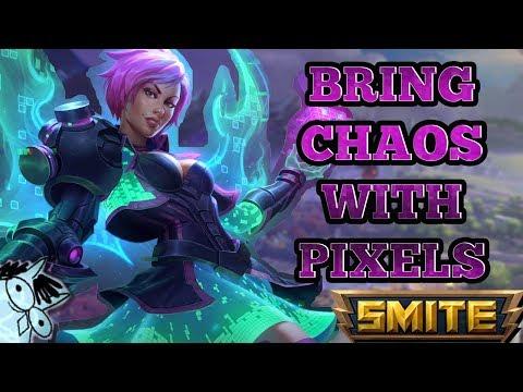AMAZING TITLE HERE - Pixel Chaos Discordia Gameplay - Smite