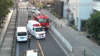★救急活動支援★横浜消防 西第2消防隊 浅間町救急隊